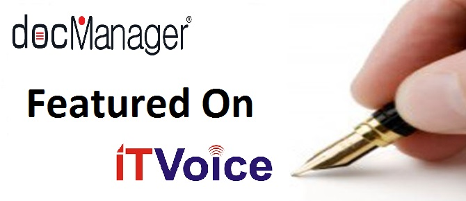 docManager® Featured On IT Voice
